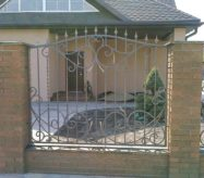 кованый забор в москве