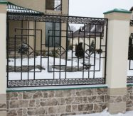 кованые заборы в москве