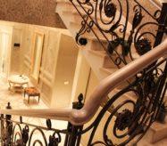 купить кованые перила для лестницы в москве