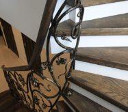 кованые ограждения лестницы в москве