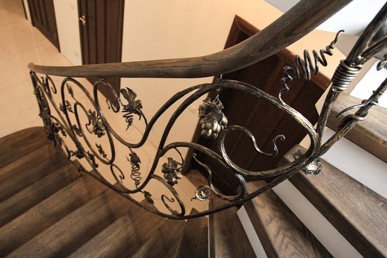 кованые ограждения лестниц картинки дни
