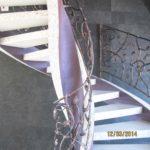 кованые лестничные перила москва