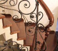 кованые перила для лестниц от производителя