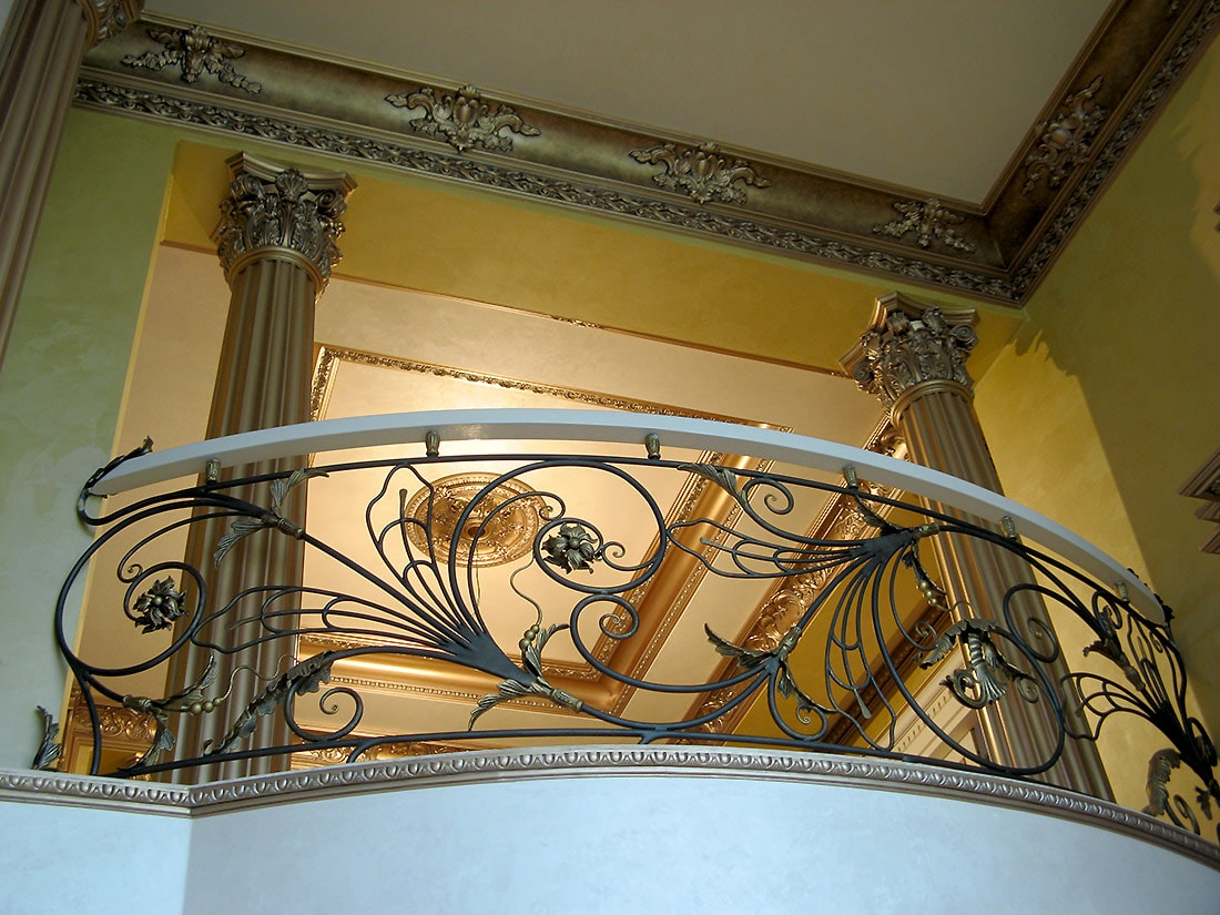кованые лестницы в москве 2