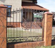 купить кованый забор в москве