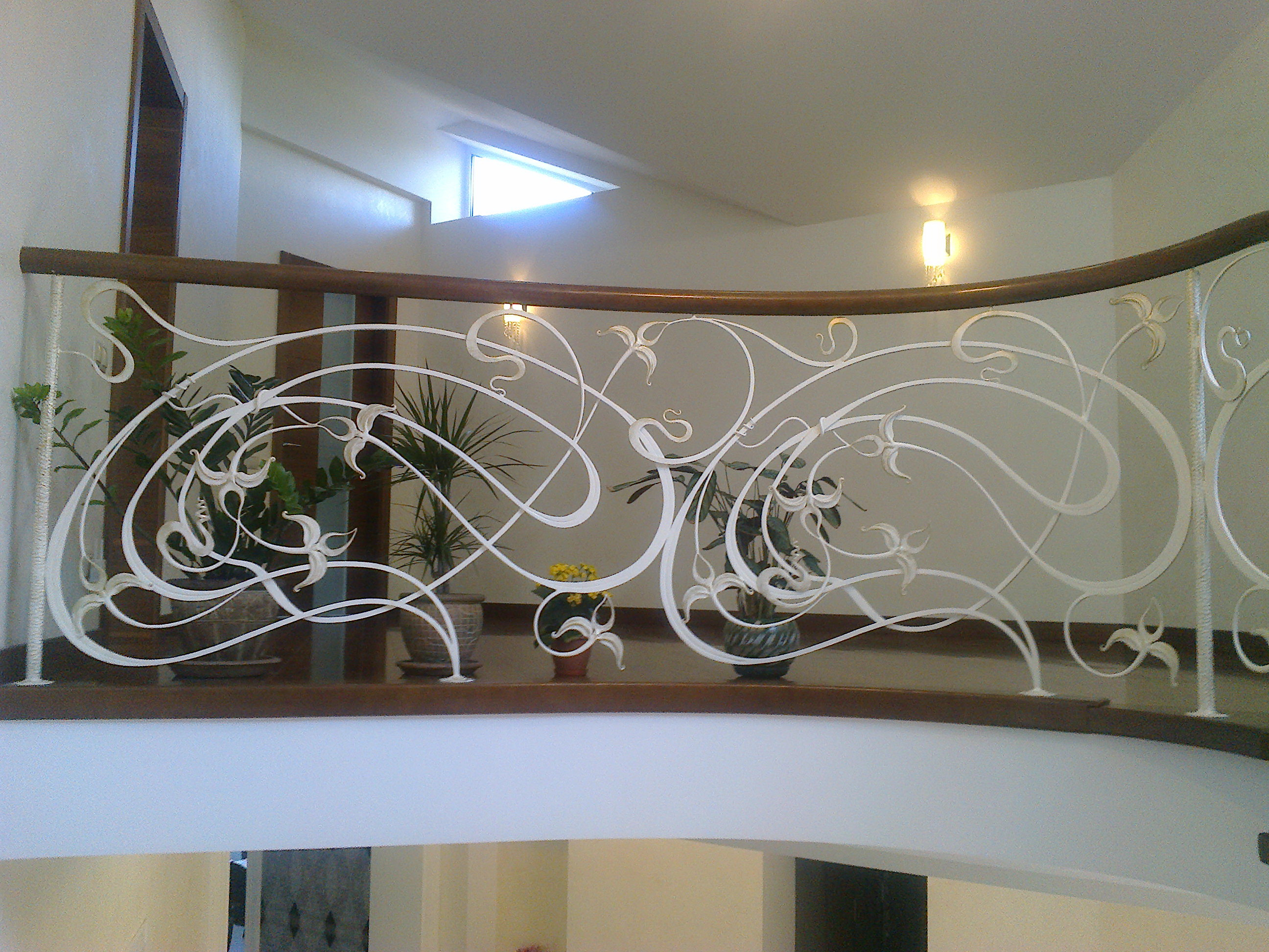 Кованные перила для лестниц