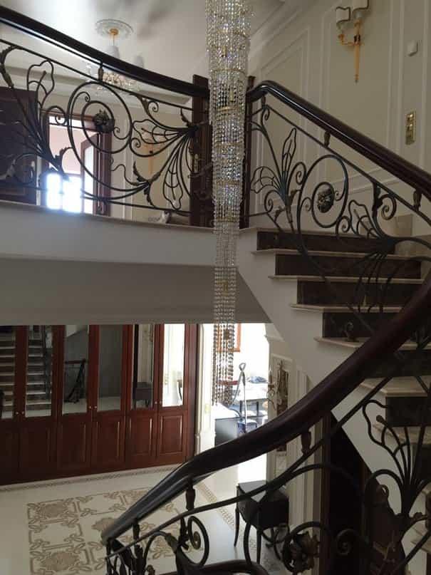 Кованые лестницы для дома