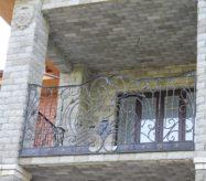 Кованый французские балконы заказать в Москве