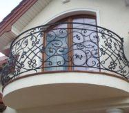 Кованый французские балконы в Москве