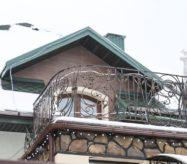 купить готовые секции кованые для балкона