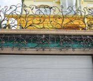москва готовые секции кованые для балкона