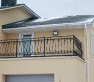 купить секции кованые для балкона