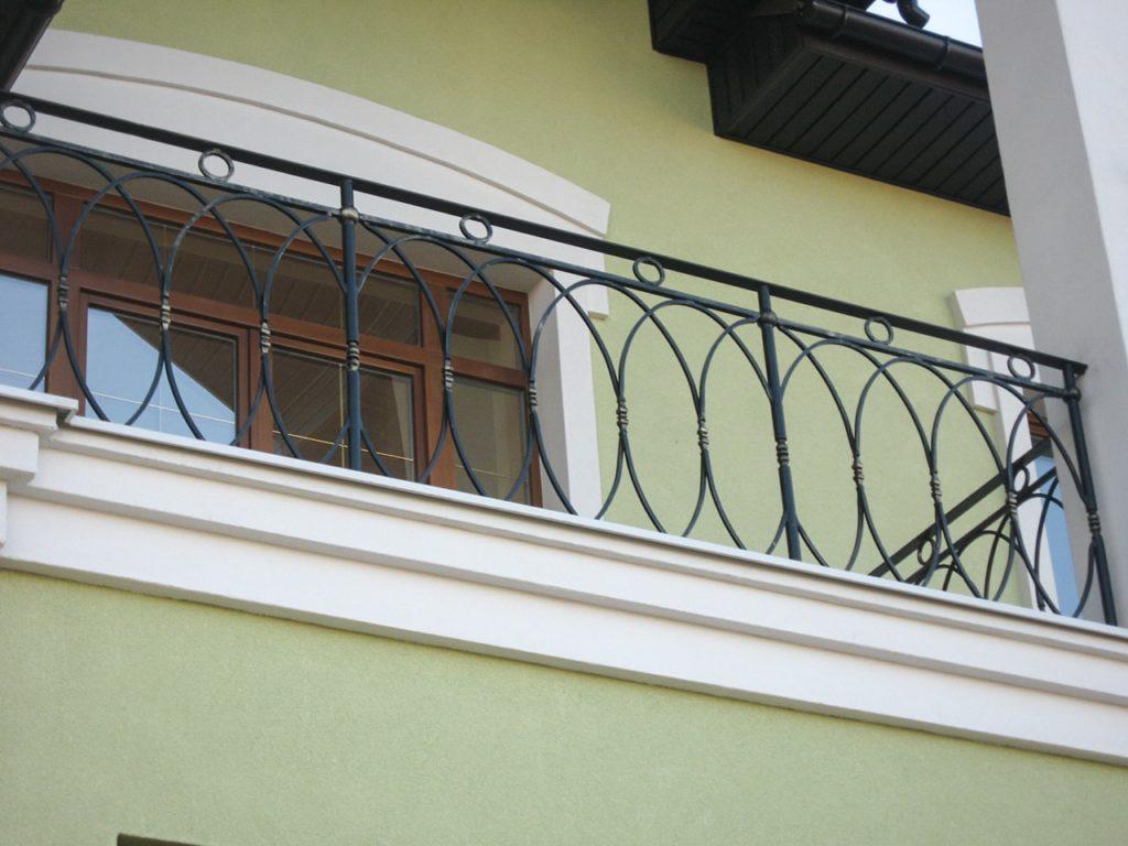 секции кованые для балкона