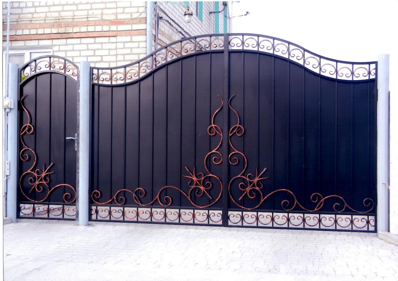 Ворота с калиткой
