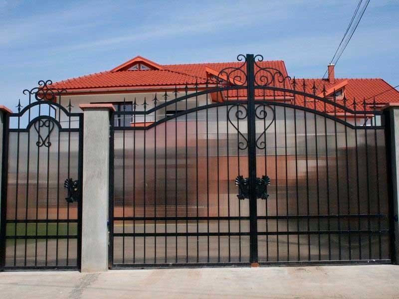 кованые ворота купить в Москве
